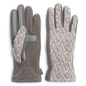 Isotoner SmartDRI Stretch Fleece Tech Gloves